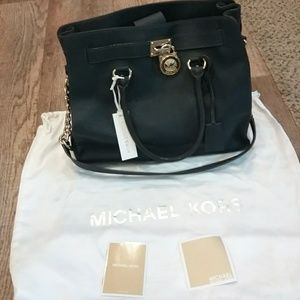 Michael Kors Hamilton North South Satchel Large